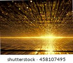 abstract fractal background  ... | Shutterstock . vector #458107495