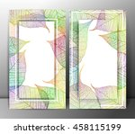leaf abstract backgrounds.... | Shutterstock .eps vector #458115199
