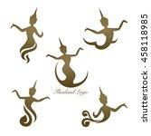 thailand logo design  thai... | Shutterstock .eps vector #458118985