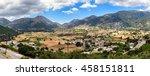 panorama of crete island | Shutterstock . vector #458151811