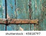 Old Grungy Wooden Door Texture...