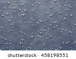air bubbles in a liquid on gray ...   Shutterstock . vector #458198551