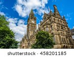 Clock Tower Of Manchester Town...