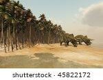 Dinosaur Life   Two Triceratop...