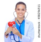 a doctor with stethoscope