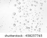 closeup water drops on car...   Shutterstock . vector #458257765