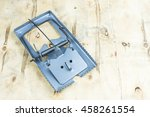 Empty Wooden Mouse Trap...