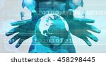 robust and scalable system with ... | Shutterstock . vector #458298445