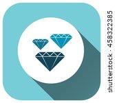 diamond icon vector logo for...