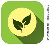 leaf icon vector logo for your...   Shutterstock .eps vector #458322517