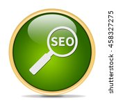 seo  icon. internet button. 3d...