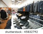 male fashion store   Shutterstock . vector #45832792