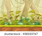 cartoon seamless nature...