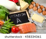 natural fresh products rich in... | Shutterstock . vector #458334361