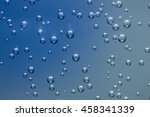 air bubbles in a liquid on a... | Shutterstock . vector #458341339