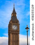 big ben london  united kingdom | Shutterstock . vector #458355109
