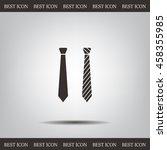 necktie vector icon | Shutterstock .eps vector #458355985