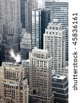 view on new york city buildings | Shutterstock . vector #45836161