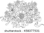 Close Up View Of Bunch Of...