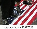philadelphia  pa    july 25... | Shutterstock . vector #458377891