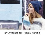 Cool Girl In Woolly Hat ...