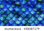 seamless background with hand... | Shutterstock . vector #458387179