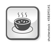 soup icon | Shutterstock .eps vector #458395141