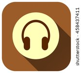headphone vector icon  earphone ...
