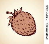 big cute cut tasteful raw... | Shutterstock .eps vector #458443831
