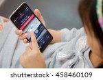 chiang mai thailand   jul 26 ...   Shutterstock . vector #458460109
