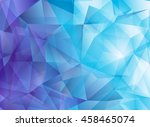 modern abstract polygonal...