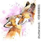 Fox. Fox And Baby Fox. Fox...