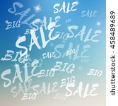 vector big sale template on... | Shutterstock .eps vector #458489689