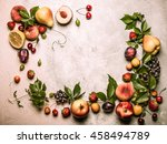 Still Life Of Various Fruits...