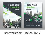 green color scheme with city... | Shutterstock .eps vector #458504647