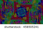 colorful abstract pattern on... | Shutterstock . vector #458505241