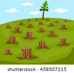 Logs And Large Portions Of A...