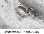 wedding rings | Shutterstock . vector #458508109