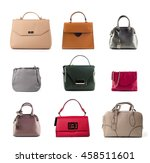 Group Of Color Leather Women...