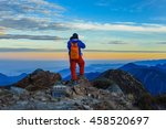 yushan mountain and tongpu... | Shutterstock . vector #458520697
