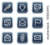 e mail web icons  mineral...
