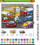 cartoon illustration of... | Shutterstock .eps vector #458553109