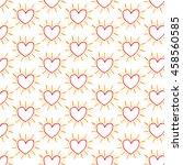 heart icon background... | Shutterstock .eps vector #458560585