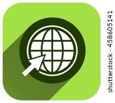 go to web icon  vector logo for ...