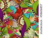 seamless vector pattern... | Shutterstock .eps vector #458606857