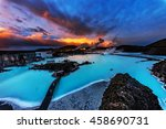 The Blue Lagoon  Iceland.