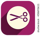 scissors vector icon  cut...