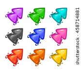 colorful vector arrows with...