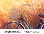 Vintage Bicycle In Summer...