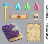 collection of items to cast a...